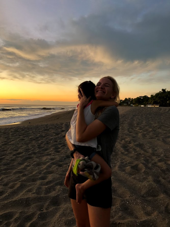 gia beach reunion with mama